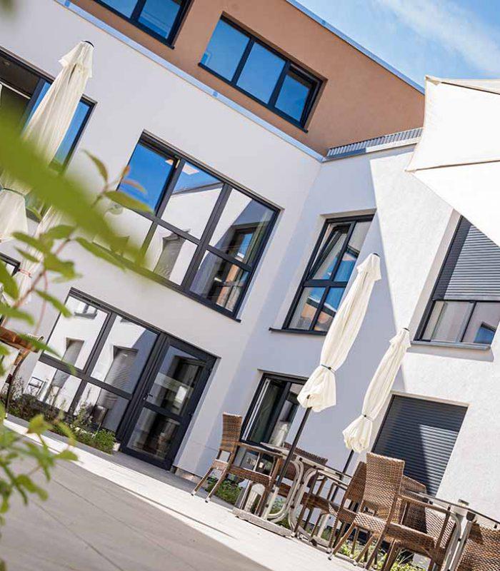 Servicehaus Sonnenhalde Stockach Innenhof